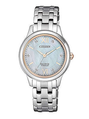 Citizen lady super titanium