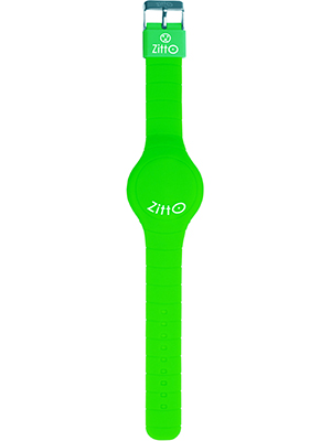 orologio zitto cool green verde brillante