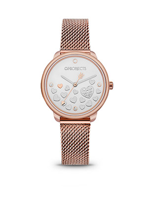 orologio ops!bold lovely rosato ops!objects
