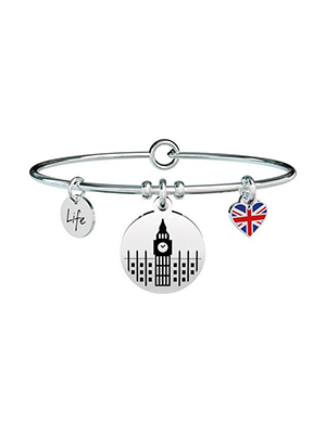 bracciale da donna kidult londra i left my heart in london