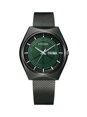 orologio citizen crystron nero BM8548-83X