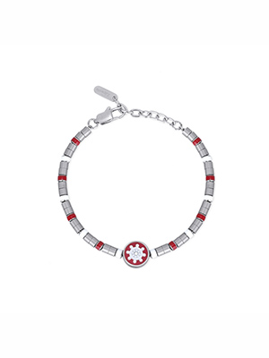 bracciale 2jewels timone smaltato 232068 da uomo