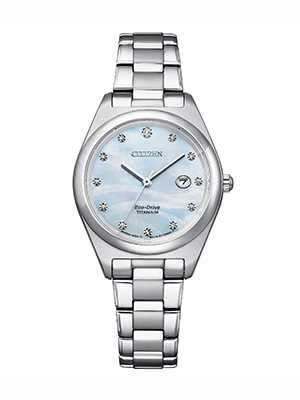 orologio citizen lady super titanium ew2600-83d