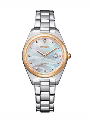 orologio citizen lady super titanium ew2606-87y