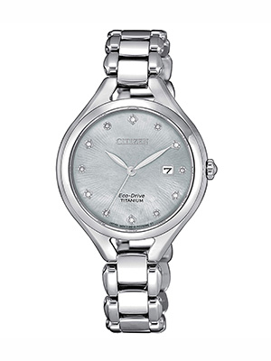 orologio citizen lady super titanium ew2560-86d