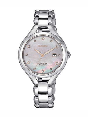 citizen lady super titanium ew2560-86y