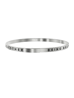 bracciale rigido kidult being brother and sister