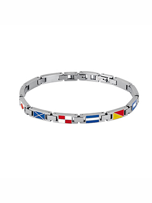 bracciale 2jewels navy bandiere