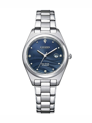 orologio da donna citizen lady super titanium ew2600-83l