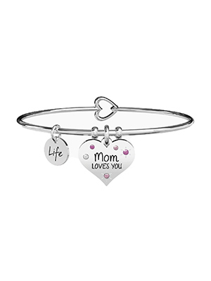 bracciale kidult mom loves you